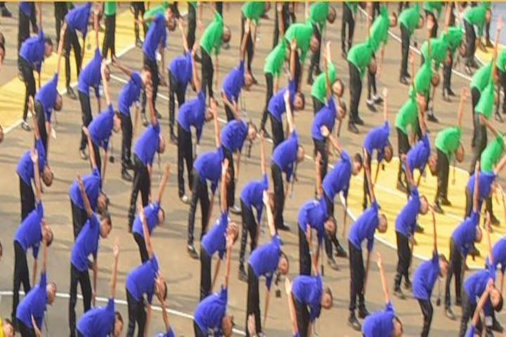 Milagres English Medium Higher Primary School-Yoga Day