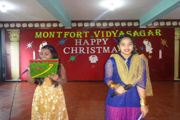 Montfort Vidyasagar-Christmas Celebrations
