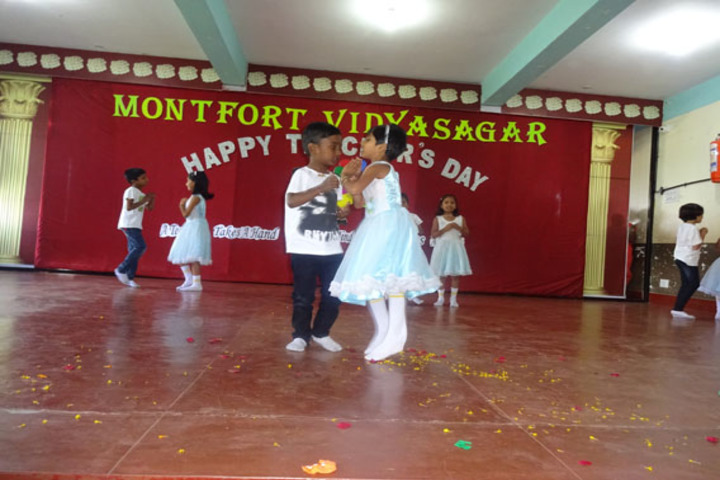 Montfort Vidyasagar-Dance Activity