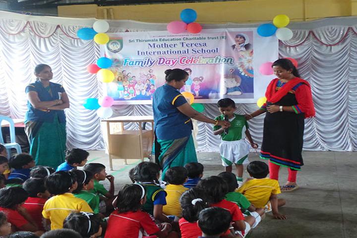 Mother Teresa International School-Family Day Celebrations