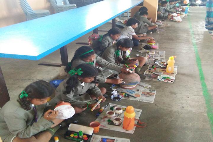 Mother Teresa International School-Paper Activity