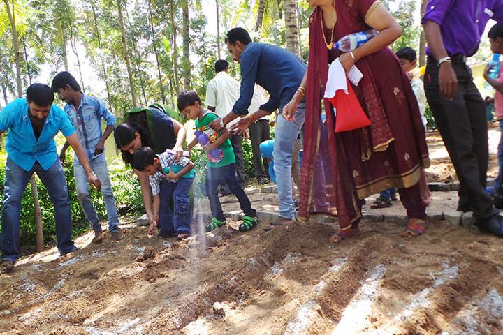 Mother Teresa International School-Plantation Day