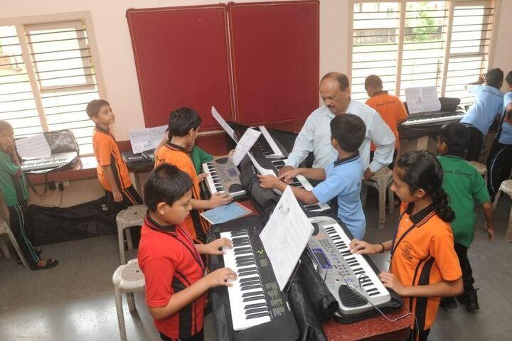 Mount Carmel Central School-Music Room