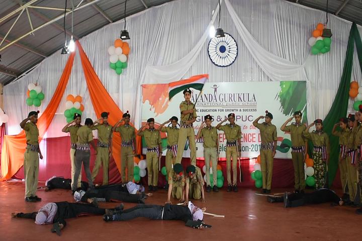 Nalanda Gurukul Intenational-Independence Day Celebration