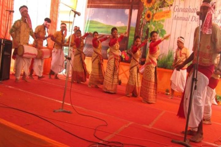 Guwahati public school - Traditional Dance