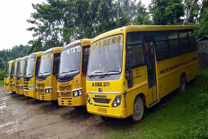 Guwahati public school - Transport Facility