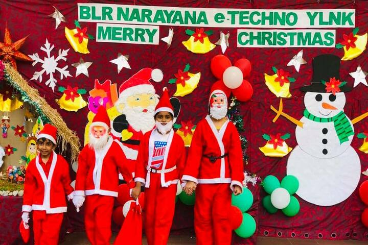 Narayana E-Techno School-Christmas Celebrations