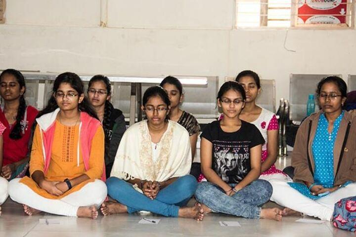Narayana E-Techno School-Yoga Activity
