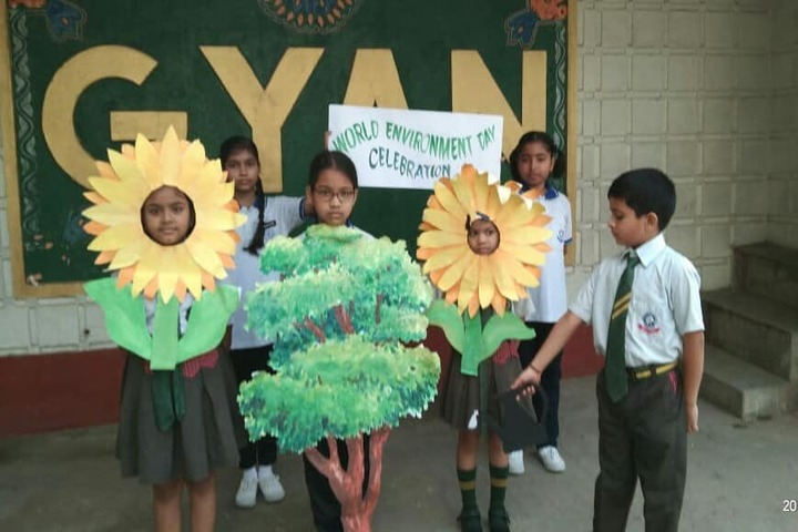 Gyan educational institution - environment day