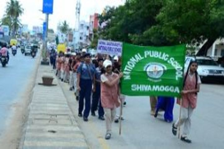 National Public School-Rally on Social Awareness