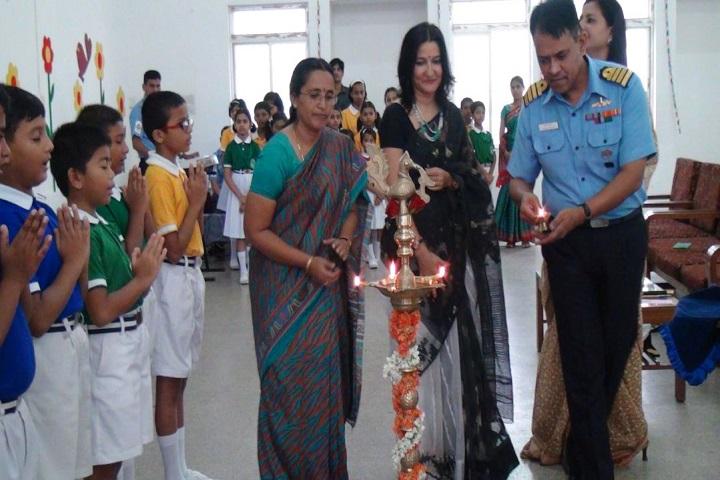 Navy Children School-Lighting The Lamp