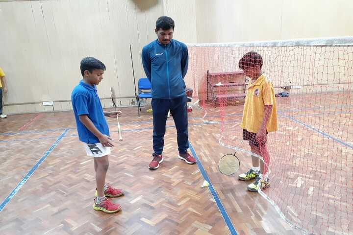 Nehru Smarka Vidyalaya-Badminton Court
