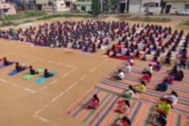 Nethaji Public School-Yoga Day