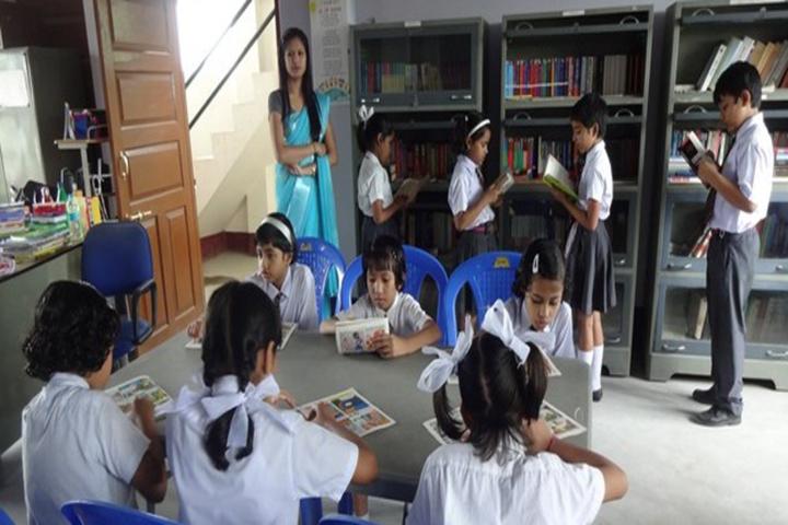Happy Convent School - Library