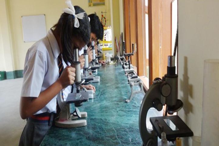 Happy Convent School - Science Lab