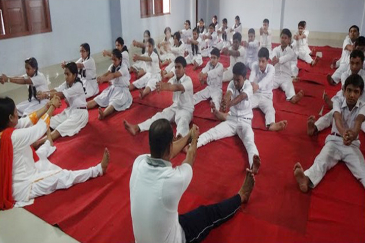 Happy Convent School - Yoga Activity