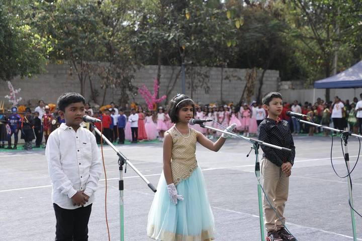 New Baldwin International Residential School-Singing Activity