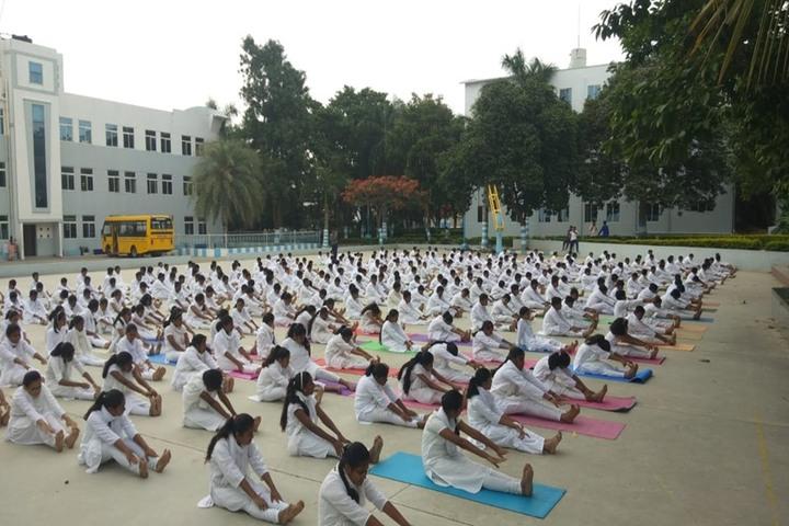 New Baldwin International Residential School-Yoga