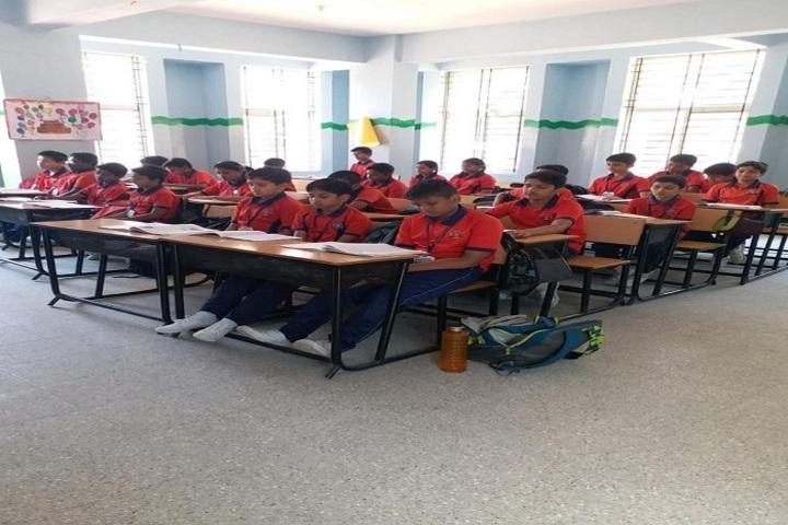 New Cambridge International Public School-Classroom