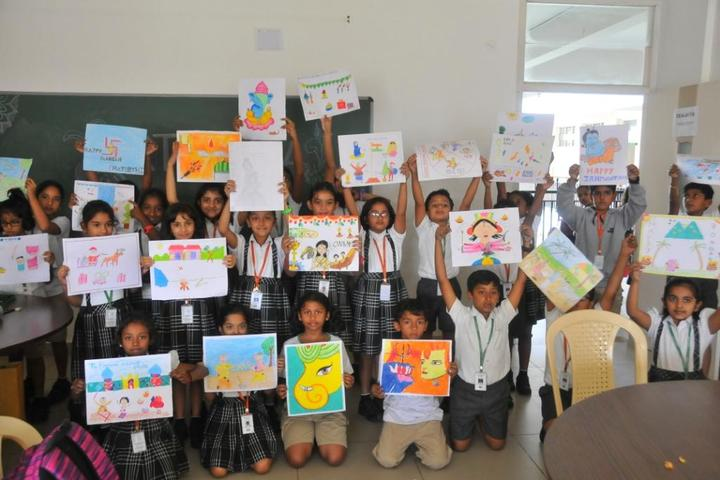 New Horizon Gurukul-Drawing Competition