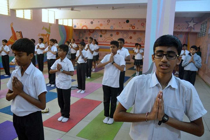 New Horizon Gurukul-Yoga