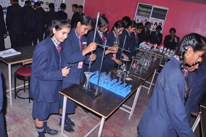 New Pratham Public School-Chemistry Lab