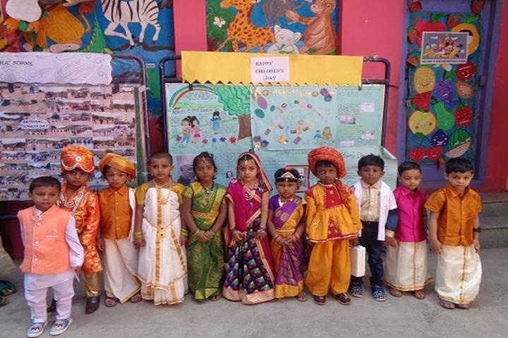 New Pratham Public School-Festival Celebrations