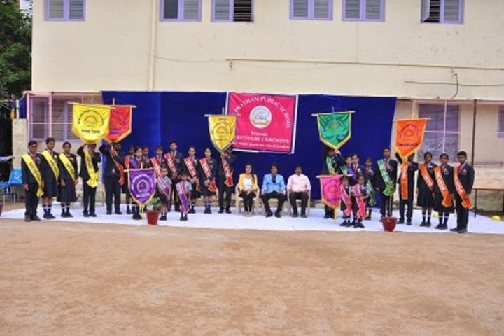 New Pratham Public School-Investiture Ceremony