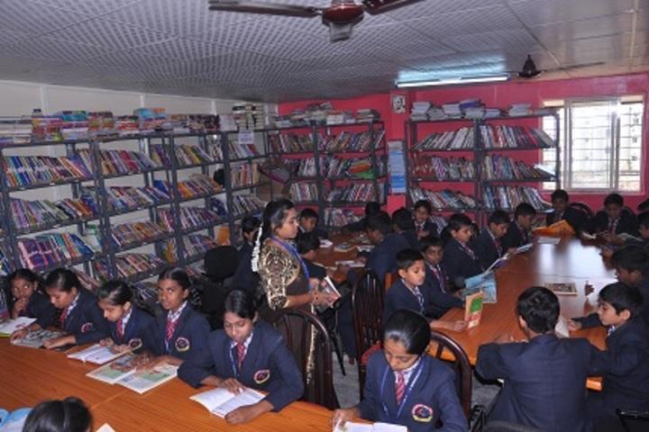 New Pratham Public School-Library