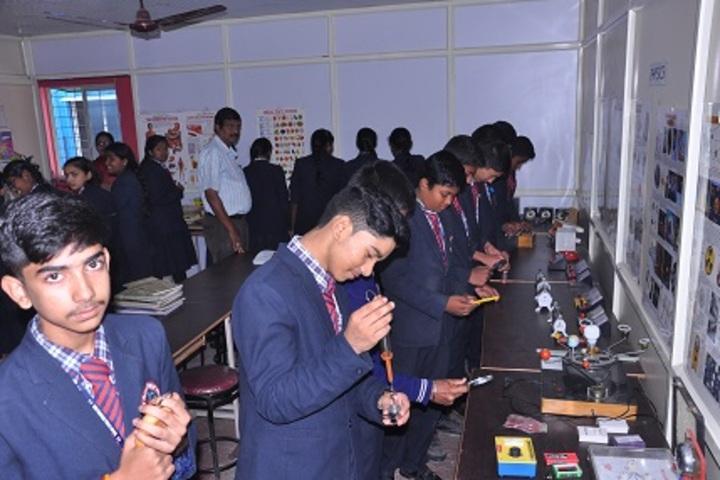 New Pratham Public School-Science Lab