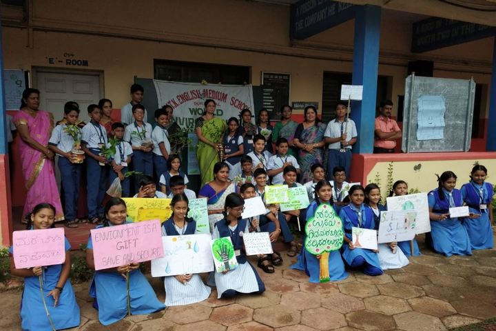 Nitk English Medium School-Environment Day