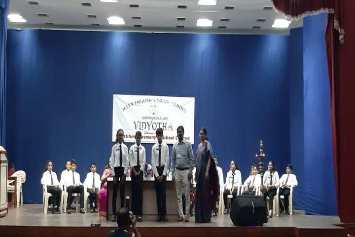 NITK English Medium School-Investiture Ceremony