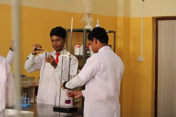 Nitte International School-Chemistry Lab