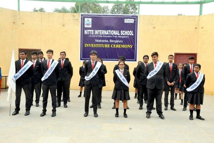 Nitte International School-Investiture Ceremony
