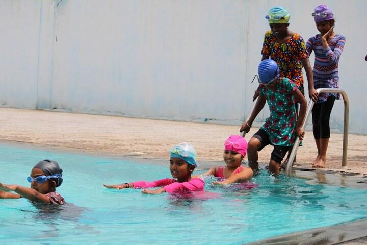 Nitte International School-Swimming Pool