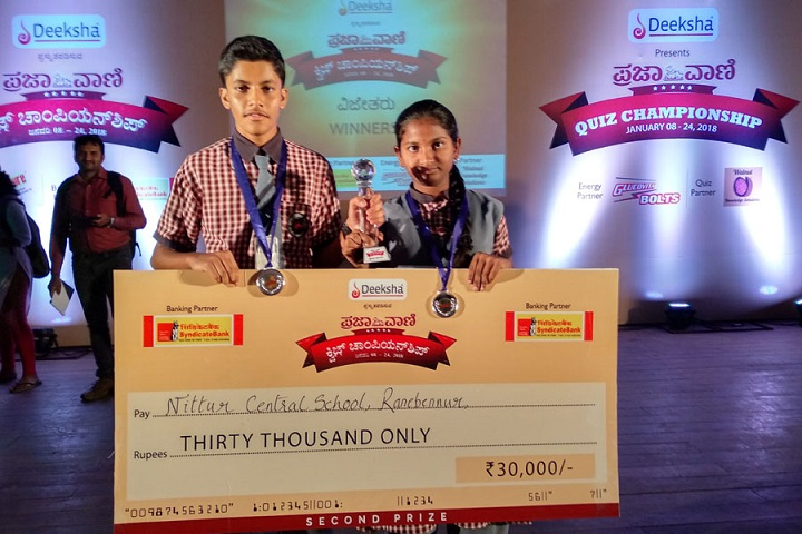 Nittur Central School-Achievements