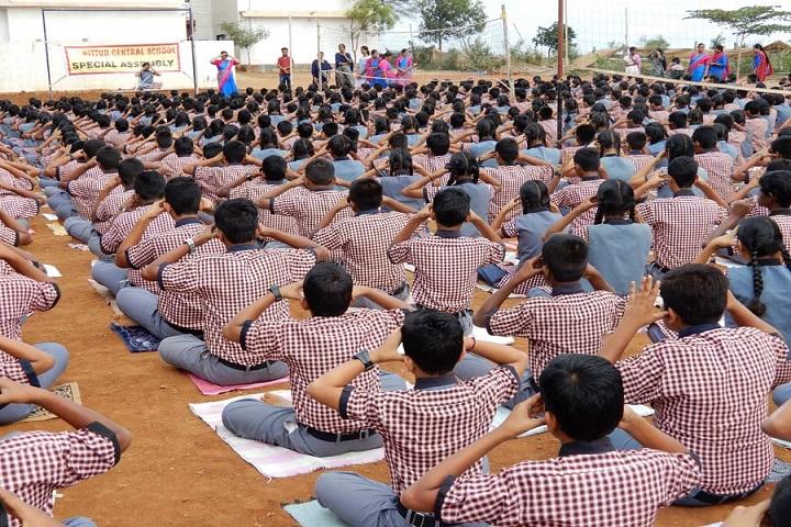 Nittur Central School-Yoga
