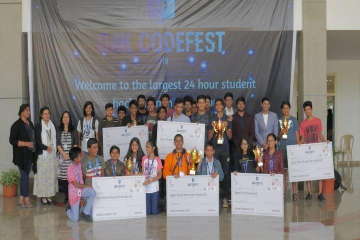 Oakridge International School-CODE FEST Winners