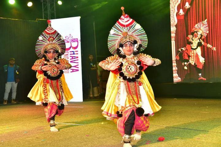 Oakridge International School-Cultural Dance