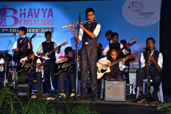 Oakridge International School-Music Band
