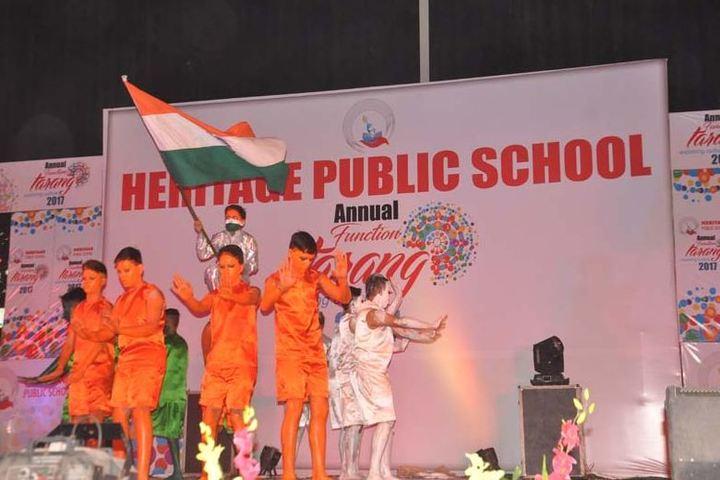 Heritage public school - annual day