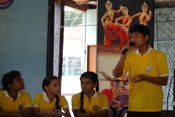 Heritage public school - debate competition