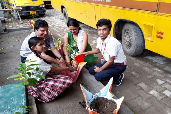 Heritage public school - environment day