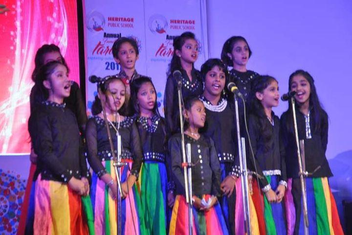 Heritage public school - singing