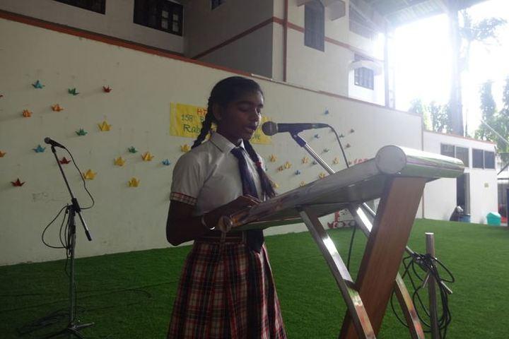 Heritage public school - story telling