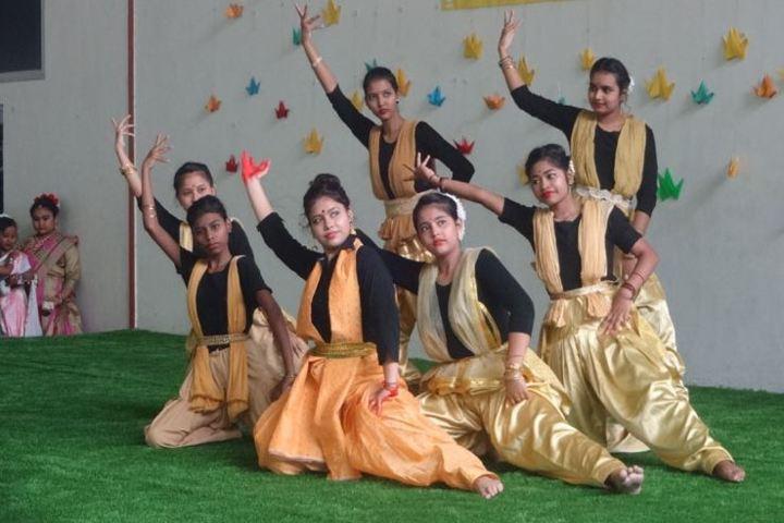 Heritage public school - traditional dance