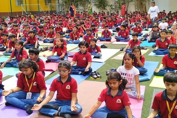 Orchids The International School-Yoga Day