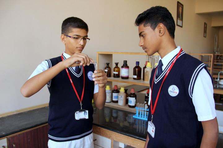 PES Public School-Chemistry Lab