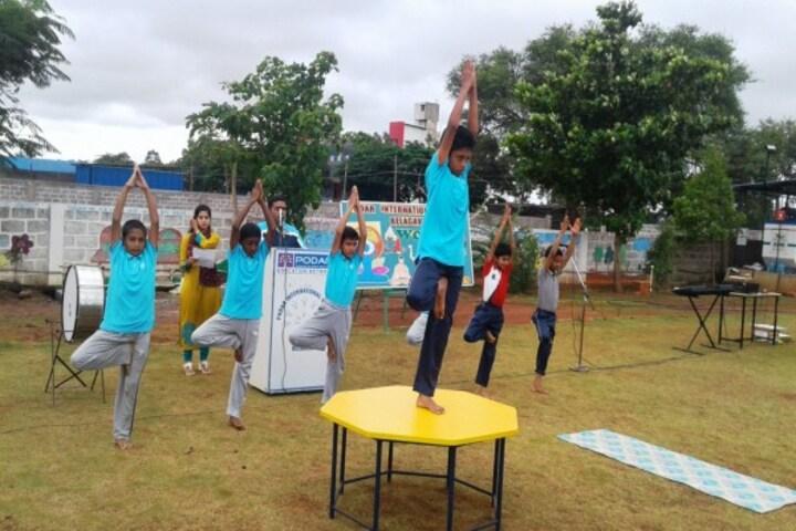 Podar International School-Yoga Day