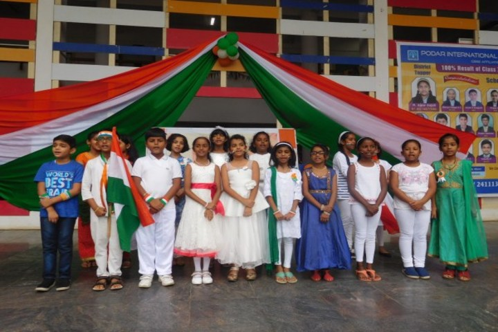 Podar International School-Independence Day Celebrations